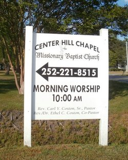 Center Hill Chapel  Missionary Baptist Cemetery