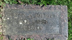 Betty A Atchley