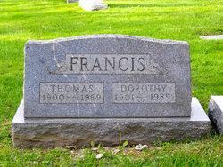 Dorothy R <I>Otton</I> Francis