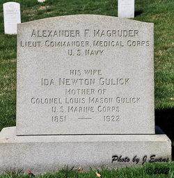 LCDR Alexander Fitzhugh Magruder