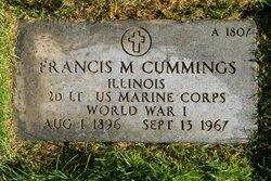 Francis M Cummings