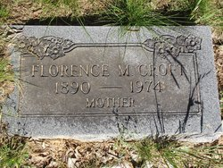 Florence May <I>Nunnelly</I> Croft
