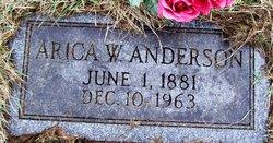Arica W. <I>Goranson</I> Anderson