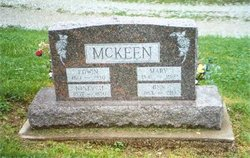 "America ""Mary"" <I>Lake</I> McKeen"