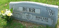 """Menford Clayton """"Clay"""" Burr"""
