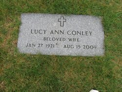 Lucy Ann <I>Webster</I> Conley