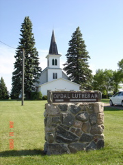 Opdal Lutheran Church Cemetery