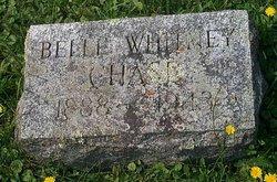 Belle <I>Whitney</I> Chase