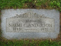 Mrs Mamie (Naemi) Caroline <I>Freed</I> Anderson