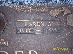 """Karen A. """"Carrie"""" <I>Peterson</I> Holder"""
