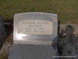 Suzanne <I>Alford</I> Whitney