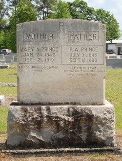 Mary Ann <I>Hardee</I> Prince