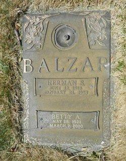 "Herman Stanley ""Bud"" Balzar"