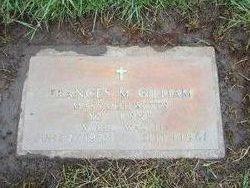 Frances Margaret <I>Baggarly</I> Gilliam