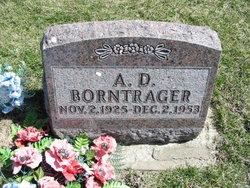 """Annaias D. """"A. D."""" Borntrager"""