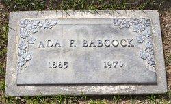 Ada <I>Forrest</I> Babcock