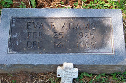 Eva Bernice <I>Smith</I> Adams
