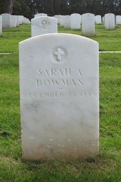 Sarah A. <I>Blake</I> Bowman