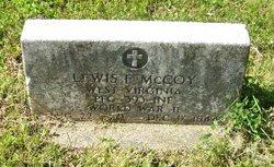 PFC Lewis Franklin McCoy