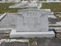 Pearl <I>Akins</I> Deal