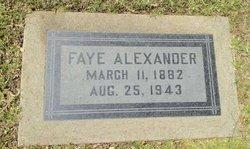 Faye Alexander