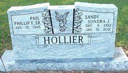 "Sondra Jane ""Sandy"" <I>Jones</I> Hollier"