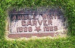 Anna E <I>Simon</I> Carver