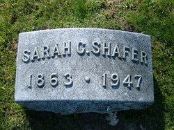 Sarah Catherine <I>Werntz</I> Shafer