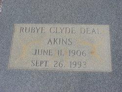 Rubye Clyde <I>Deal</I> Akins