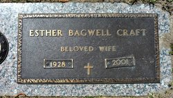 Esther <I>Bagwell</I> Craft