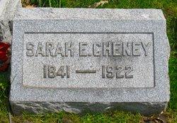 Sarah E. <I>Martin</I> Cheney