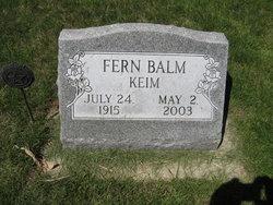 Fern Irene <I>Keim</I> Balm