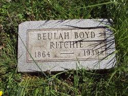 Anna Beulah <I>Boyd</I> Ritchie