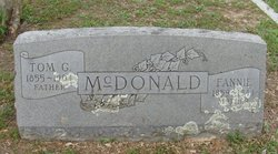 "Thomas G ""Tom"" McDonald"
