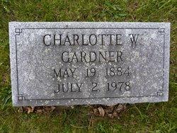 Charlotte <I>Winters</I> Gardner