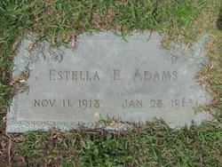 "Lessie Estella ""Stella"" <I>Englebert</I> Adams"