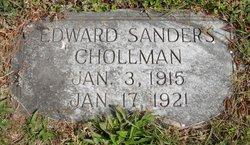Edward Sanders Chollman