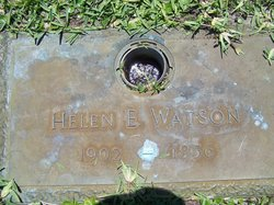 Helen E Watson