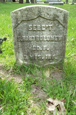 Sgt Samuel Bartholomew