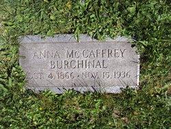 Anna <I>McCaffrey</I> Burchinal
