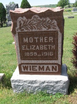 Elizabeth <I>Miller</I> Wieman