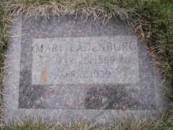 Mary A <I>Krause</I> Ladenburg