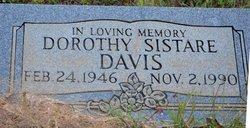 Dorothy <I>Sistare</I> Davis