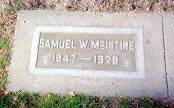 Samuel W McIntire