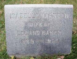 Isabelle <I>Masten</I> Baker
