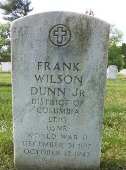 LTJG Frank Wilson Dunn, Jr