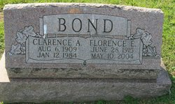"""Clarence A """"Deenie"""" Bond"""