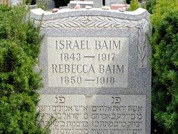 """Rebecca (Cailah) """"Becca"""" <I>Graber</I> Baim"""