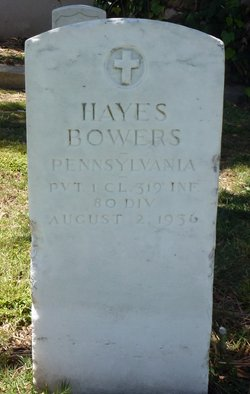 Hayes Bowers