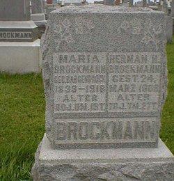 Maria Mary <I>Barienbrock</I> Brockman
